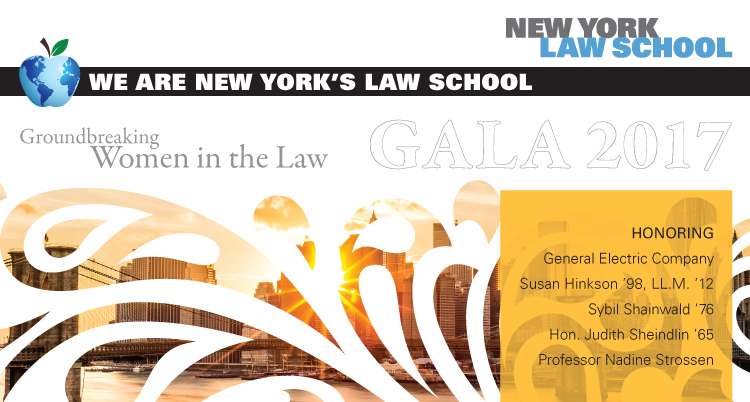 NYLS Gala 2017: Groundbreaking Women in Law